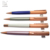 2017 office school supplies brand custom logo ball pen elegant rose gold metal pen