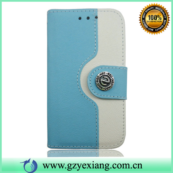 PC+PU case flip leather case/cover for Samsung I8190 S3 Mobile phone housing