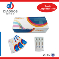 Hot sale!Diagnos torch test card/torch 5 in 1 rapid test card with competitive price/China