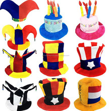 Quality Custom Football Cap Cheering Carnival Hat Crazy Football Fans Hat