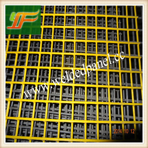 Best Price Yellow PVC Coated Welded Wire Mesh Panels