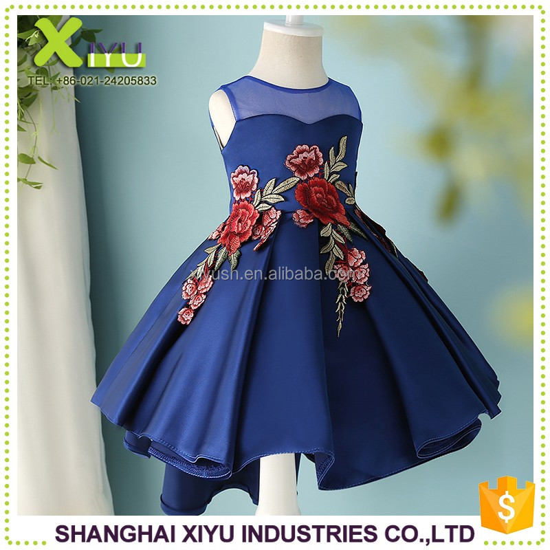 Well-designed new model 2016 girl dress new frock design