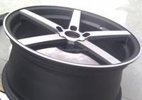 6,5,4 Hole and PAINTING/ML/MS/HS/HB/CHROME/VC Finishing aluminum alloy wheel