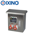 Stainless Steel Distribution Boxes Compact box electrical socket box industrial socket&plug