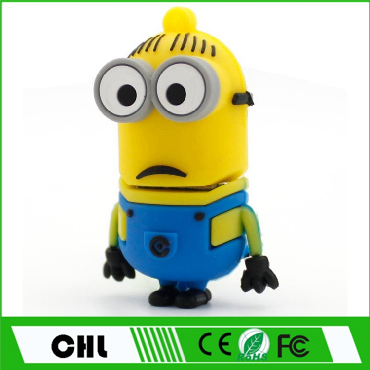 Key Ring Minions Theme USB Stick , Lovely Minion USB