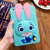 Women's Fashion Rabbit Covers Rubber Silicone Covers Cases for Ipad