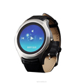 Android Wear smart watch full round smartwatch GPS Smart clock with SIM slot