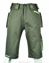 men High visible safty cargo short pants