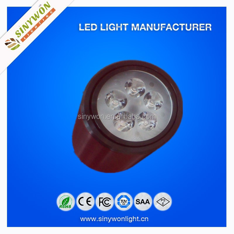 New Fashion Cylinder Type Surfacemounted 5w Led Downlight