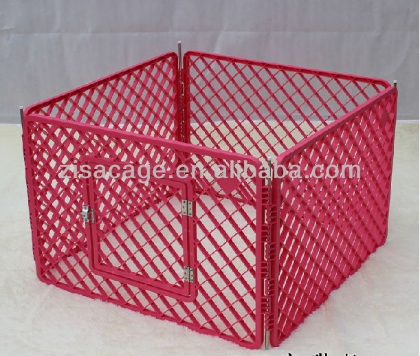 plastic dog cage /dog fence/pet cage