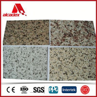 stone finish aluminium composite panels acp exterior wall cladding