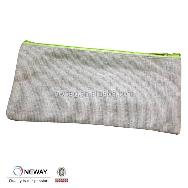 2015 China Price Quality Custom Cotton Pencil Pouch/Cheap Cotton Pouch/Catton Pouch
