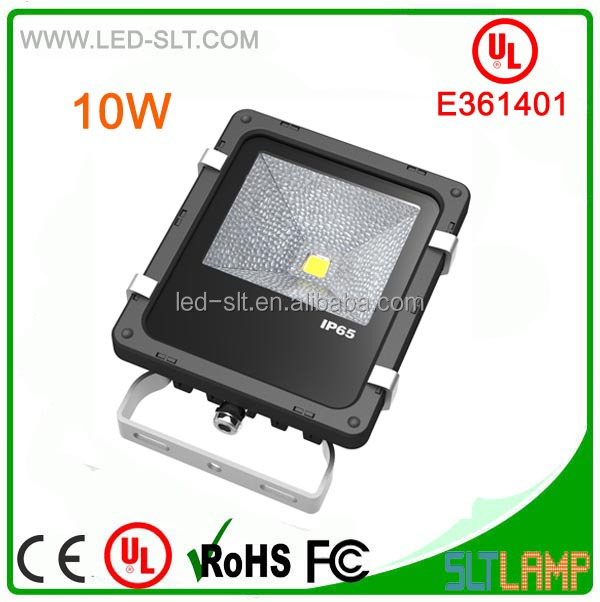 130LM/W UL cUL E361401 IP65 High Power 10W LED Flood Light Outdoor Lighting