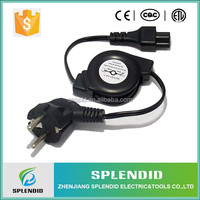 Professional manufacturer C5 for laptop 50ft retractable power cord reel