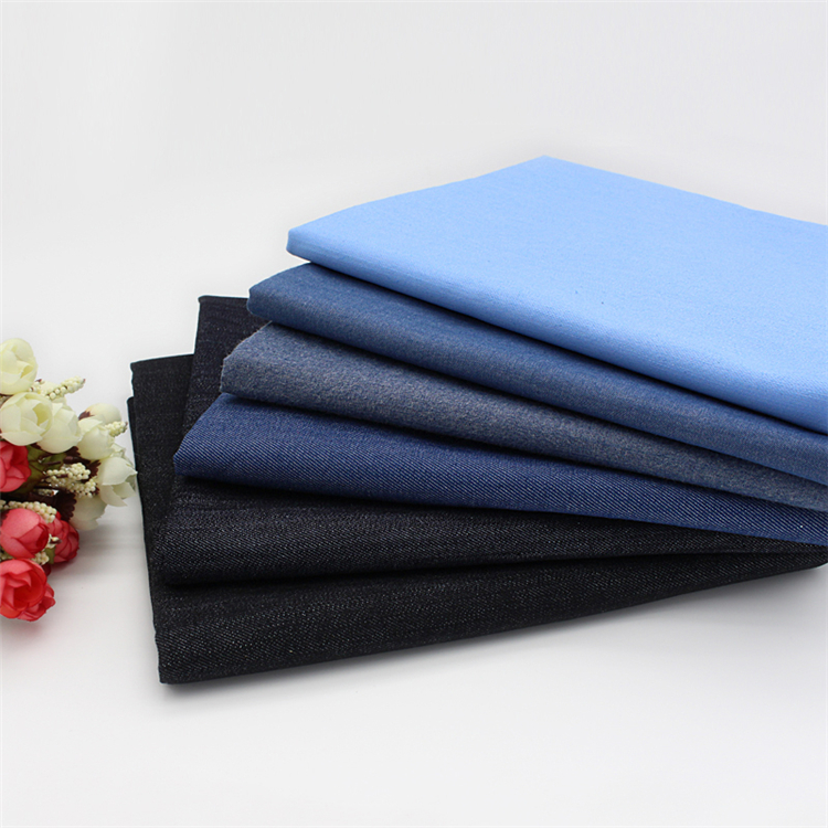 98%Cotton 2% Spantex Denim fabric any specification in denim fabric swatches for jeans buyers