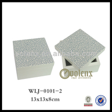 Shenzhen High Glossy Magnetic Closure Trinket Box(BV&SGS)