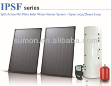 IPSF Split Active Flat Plate Solar Water Heater System Open Loop/ Closed Loop