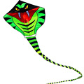2018 new 30m large snake kite flying kite for sale