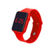 Gift Bulk Order Ice Band Watch Strap Silicone Led Watch In Wristwatches