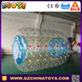 2017 hotsale inflatable water rolling ball with protect netting