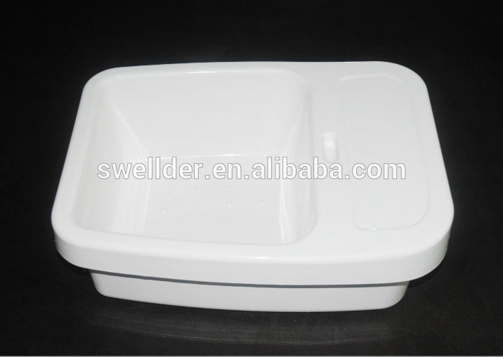 Plastic vacuum forming kitchen sink