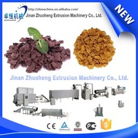 Breakfast cereal wheat flakes making machine