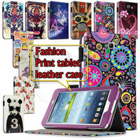 P3200 Tablet Case Paint Skin Cute Cover For Samsung Galaxy Tab 3 P3200