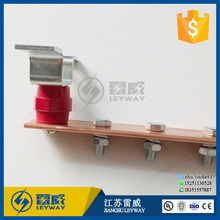 High pure Lightning Arrester Bracket and Tinned Coated Copper Bus Grounding Bar