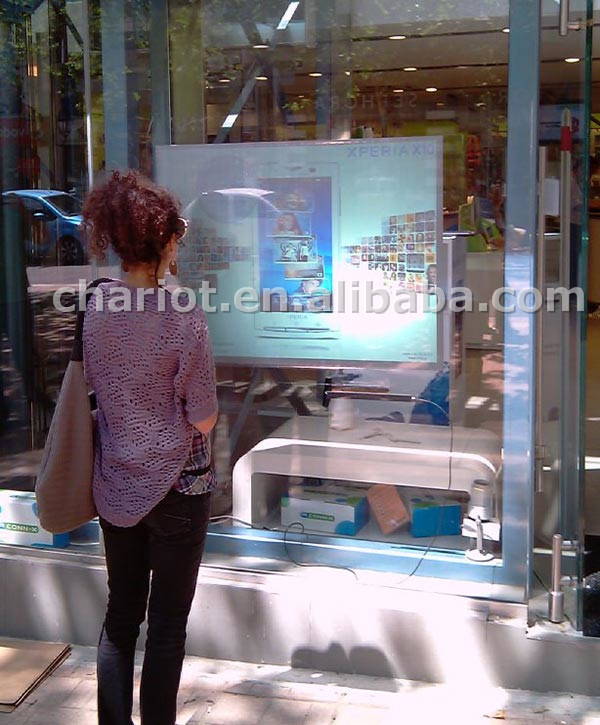 2018 transparent /clear rear projection film create an amazing holographic visual world