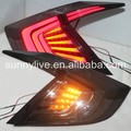 For HONDA Civic LED Tail Light Year Smoke Color YZ 2016