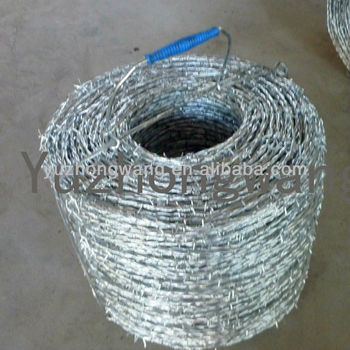 Galvanized Double Twisted Barb Wire Tensioner