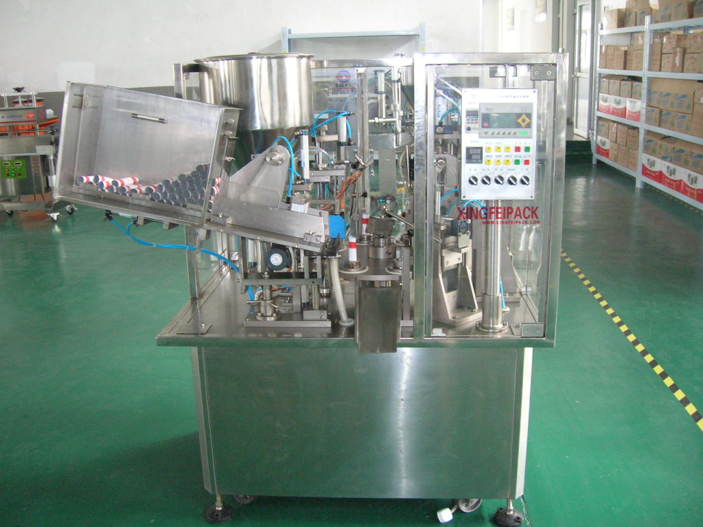 XF-GF Automatic plastic tube toothpaste filling machine