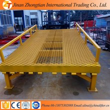 12 Tons Load Capacity Hydraulic Container Unloading Ramp