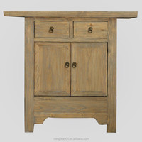 Chinese Antique Furniture natural reclaimed solid wood Cabinet