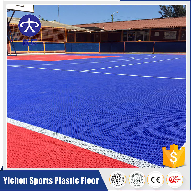 outdoor portable basketball court sports flooring