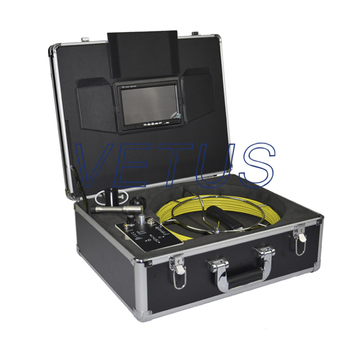 710DLC deep well inspection camera with 512Hz transmitter and meter counter