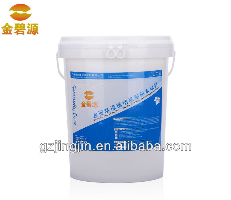 Cementitious Capillary Crystalline Waterproofing Materials