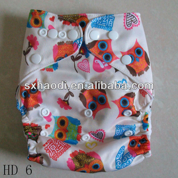 Make Order,Super Absorbents Reusable Cloth Sleepy Baby Diaper