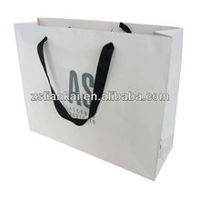 Ribbon Band Paper Bags Printing