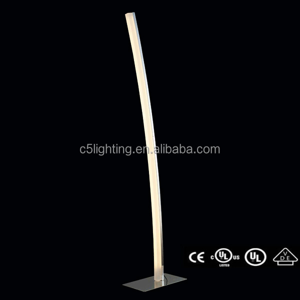 Hot new product Aluminium arylic Led floor lamps