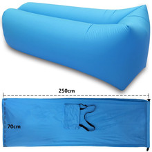 Ideal for Indoor or Outdoor air couch air inflatable hangout sofa or Inflatable Lounger for Camping giant inflatable lounger