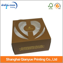 unique design paper birthday cake packaging box custom cardboard birthday cake box