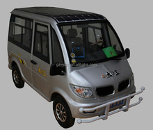 Economical Passenger Use For and Closed Body Type 8 seat solar electric new car & electric tricycle& 4 wheel electric bike