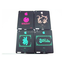 Silicone tablet case cover for IPAD 2 with glow in dark logo