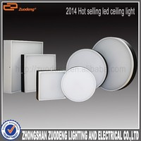 zuodeng round led ceiling light CE RoHS led light motion sensor dimmable surface mounted round flat led ceiling light