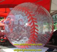 inflatable sports ball zorb, airtight bubble zorb soccer