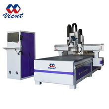 1325 Auto tool changer 9.0kw spindle 3d wood cutting cnc router machine