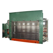 Best selling lamination hot press machine