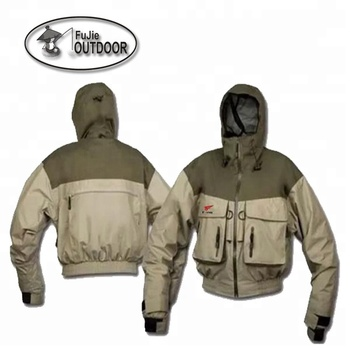 Mens Waterproof Lightweight Hooded Fishing Jacket