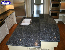 China dark blue night granite countertop